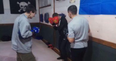 Защита в боксе, ММА. Защита в углу ринга