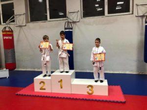 Соревнования по карате киокушин