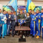 Турнир по кикбоксингу! Победа наших спортсменов в Киеве!