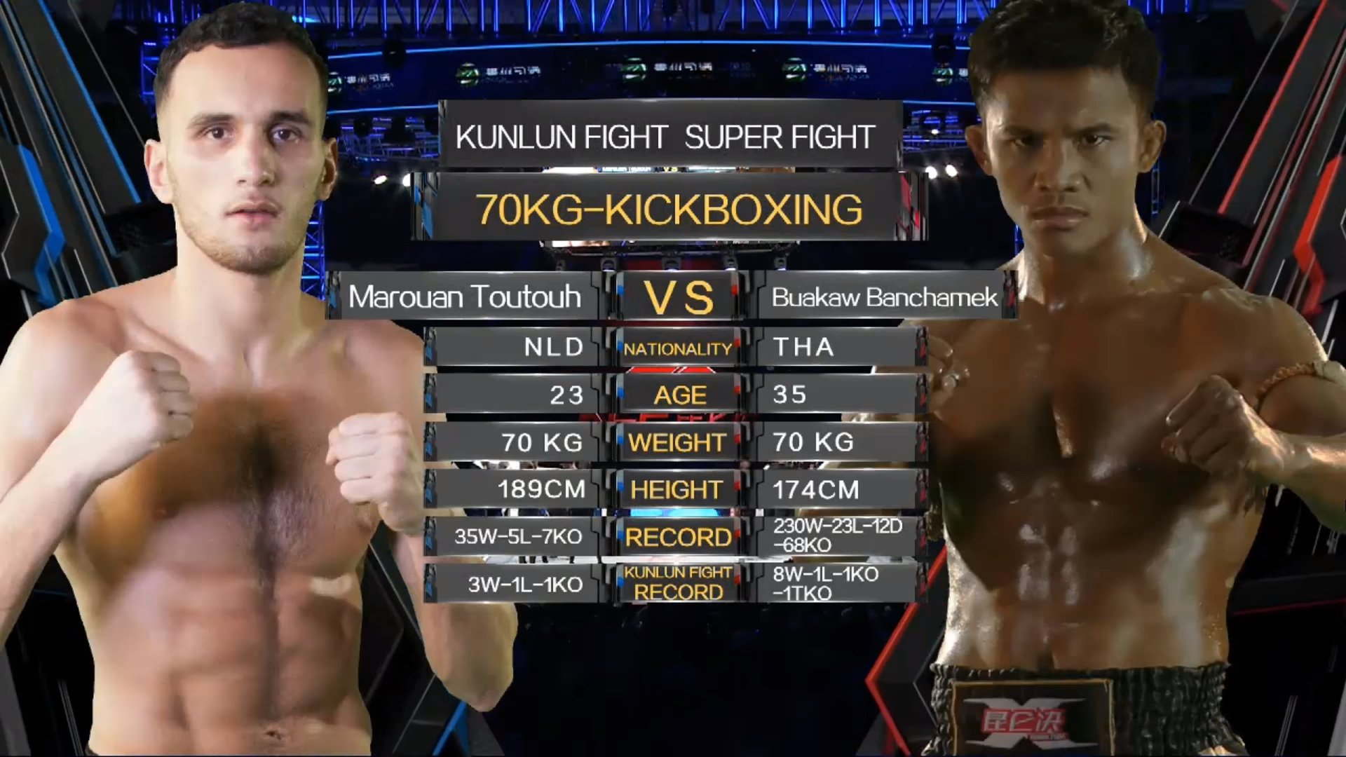 Buakaw Banchamek VS Marouan Toutouh FULL FIGHT!!!