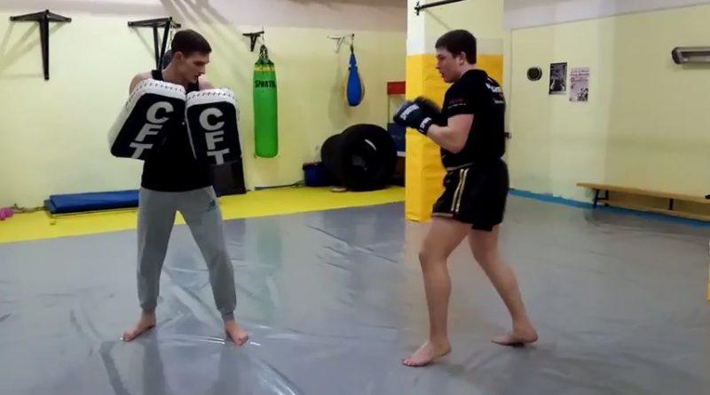 Тайский бокс: классические связки ударов. Отработка на лапах