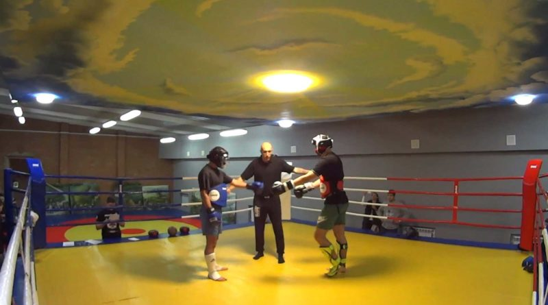 Пара № 9 Касим Масуд 80 кг - Романчук Дима 92кг.