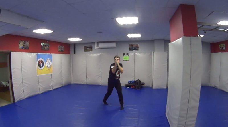 Перенос веса тела в боксе. Видеоурок. Миксфайтер Киев.