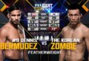 ММА. Свободный бой. The Korean Zombie vs Dennis Bermudez