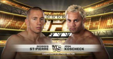 Джордж Сент Пьер vs Косчек Джош | Профбой в промоушене UFC.