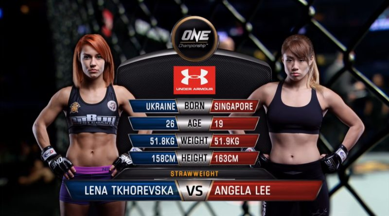 Lena Tkhorevska vs Angela Lee